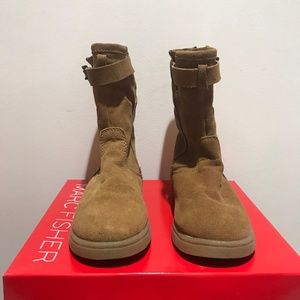 Marc Fisher Suede Leather Boots Mfearra